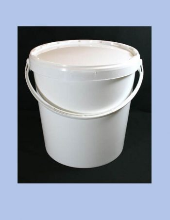 21 Litre Plastic Handled Bucket with Lid