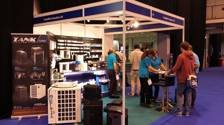 TradeMark Aquatics stand at AQUA Telford 2015