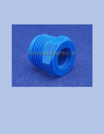 "1/2"" BSP Male x 1/4"" BSP Female Reducing Bush - blue"