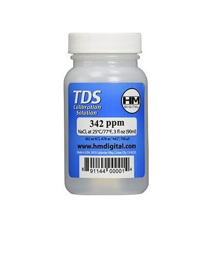 HM Digital 342 PPM TDS Calibration Solution