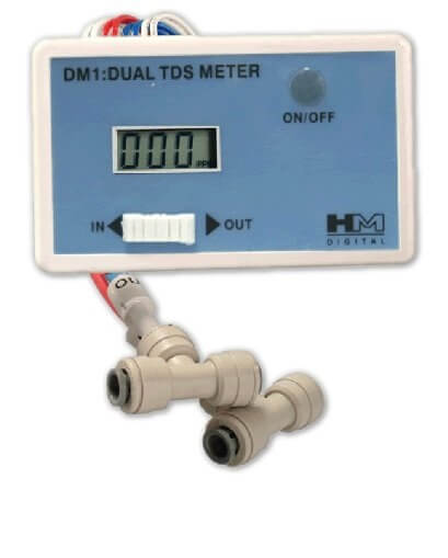 HM Digital DM-1 In-Line Dual TDS Monitor