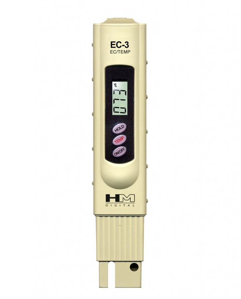 HM Digital EC-3 Handheld Conductivity Tester and Thermometer