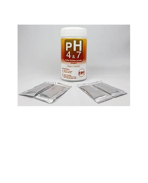 HM Digital pH Buffer Solution Variety Pack