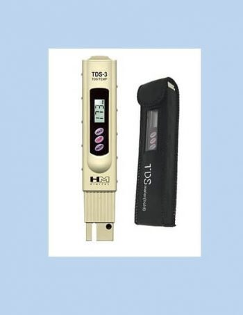 HM Digital TDS-3 Handheld Meter with Case